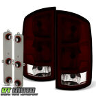 Red Smoked 2002-2006 Dodge Ram 1500 03-06 2500 3500 Tail Lights Lamps Leftright