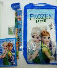 Astuccio da bambina per la scuola set cancelleria Frozen idea regalo