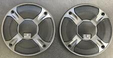 """2 HELIX 4"""" SPEAKER COAXIAL COMPONENT PROTECTIVE GRILLS COVERS 1 PAIR"""