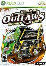 World of Outlaws: Sprint Cars (Microsoft Xbox 360, 2010) VERY GOOD