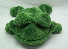"Russ Animal Junction BIG EYED GREEN FROG 10"" Plush STUFFED ANIMAL Toy"