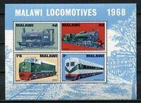 36912) Malawi 1967 MNH Trains, Locomotives S/S