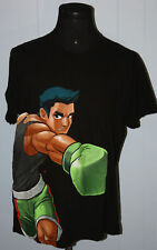 2009 Nintendo Punch Out Video Game Big Graphic Black Tee Shirt XL