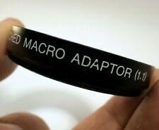 Vivitar 49mm 1:1 Lifesize Adapter Macro Lens Filter for 100mm f3.5 MC close-up