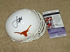 Jordan Spieth signed Texas Longhorns NCAA Mini Helmet JSA PGA Golf