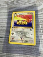 1x 1st Edition Persian 42/64 Jungle Uncommon Pokemon Card WOTC VG+