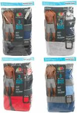 Fruit of the Loom 3-Pack Mens Cotton Boxer Briefs Assorted Colors &/or Prints
