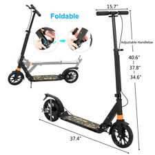 Electric Scooter Adult Portable Folding E-Scooter for Teens Gifts
