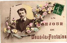 CPA  Un Bonjour  de Doué-la-Fontaine    (207589)