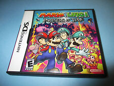Mario & Luigi Partners in Time (Nintendo DS) Lite DSi XL 3DS w/Case & Manual