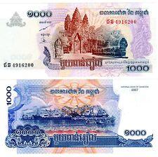 CAMBODGE CAMBODIA Billet 1000 RIELS 2007 P58 NEUF UNC