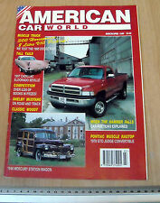 American Car World Magazine March/April 1995
