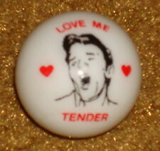 ELVIS LOVE ME TENDER IVORY MARBLE       REALLY COOL !