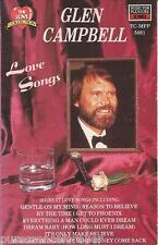 GLEN CAMPBELL - Love Songs (UK 16 Trk Cassette Album)