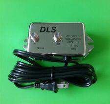 (NEW) DLS UHF/VHF/FM 10dB Amplifier - Free Shipping
