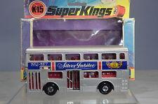 MATCHBOX SUPER KINGS No.K-15 LONDONER BUS ' 1952-1977 SILVER JUBILEE'  VN MIB