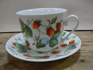 Roy Kirkham Alpine Strawberry Jumbotasse mit Untertasse 480 ml Nr.296629
