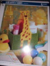 plastic canvas Giraffe Caddy pattern