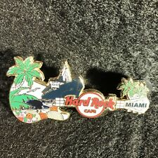 Hard Rock Cafe Miami City Core Guitar Cruise Ship 2008 Limited Edition Pin