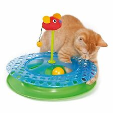 Petstages Cheese Chase Cat Play Toy Track with Ball