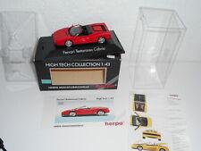 Herpa FERRARI   testa rossa cabrio rouge échelle 1/43  vintage NEUVE  minichamps