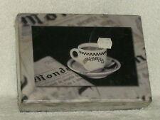 BISTRO PARISIENE PLAYING CARD SET 2 DECKS PLUS 56 PAGE CARD GAME BOOK