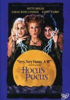 HOCUS POCUS - Bette Midler - DISNEY DVD NEW