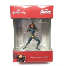 BLACK WIDOW  MARVEL AVENGERS HALLMARK CHRISTMAS TREE ORNAMENT FIGURE