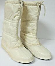 Sorel White Polar Snow Thermal Warm Mid-Calf Boots Ladies' Size 8 VTG NWOT