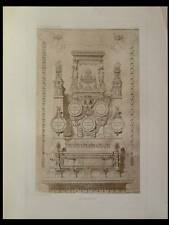 FRONTISPICE - 1910 - PLANCHE ARCHITECTURE - GUSTAVE RAULIN