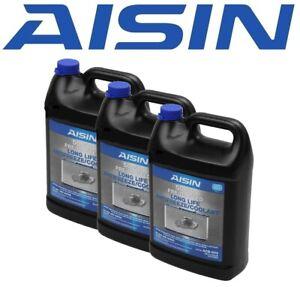 Aisin Set of 3 Engine Coolants / Antifreeze ACB003 for Acura Honda Nissan
