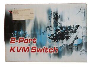 Skymaster 2 port kvm switch