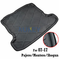 Rear Trunk Liner Boot Mat Cargo Tray Floor Carpet For 07-17 Mitsubishi Pajero