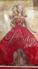 Happy Holiday Barbie 2014, NRFB - 30176 Caucasian Blonde NEW