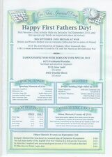 Father's Day Personalised Certificate New Dad Father Grandfather Gift A4 or Card