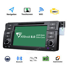 "Eonon Android 8.0 8core 7""car Stereo DVD GPS SAT NAV DAB 1024*600 for BMW E46 M3"