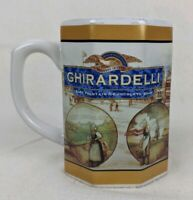 Houston Harvest GHIRARDELLI Chocolate Co.  Mug Cup Decorative Collectibles