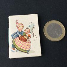 Calendrier Pub Miniature 1938 Papeterie Bernasconi Casablanca Calendar Almanach