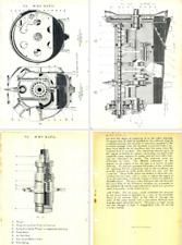 Royal Aircraft Factory R.A.F 1 Aero Engine Manual archive V-8 Renault 1913-15