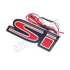 1x Si Logo Car Front Hood Grille Emblem LED Light for Honda CIVIC SPIRIOR Etc.