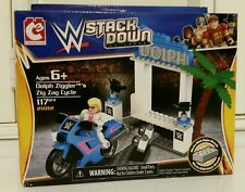 WWE Wrestling - Stack Down Dolph Ziggler Zig Zag Cycle (Brand NEW!)