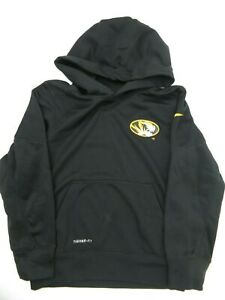 Nike Mizzou Missouri Tigers Therma Fit Hoodie Jacket Kid's Size S