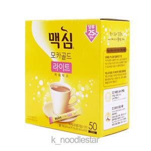 [Dongsuh] Maxim Mocha Gold Light Coffee Mix Korean Food Beverage 11.8 g x 50 ea