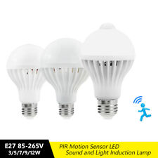 E27 LED BULB PIR INFRARED MOTION DETECTING SENSOR LIGHT 5730SMD STAIR LAMPS 5D3