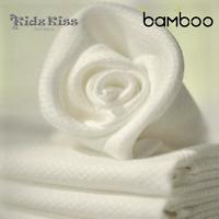 Kidz Kiss Bamboo Cot Waffle Blanket [140 x 120cm] Luxuriously Soft
