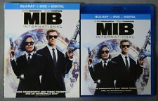 Men in Black International (Blu-Ray + Dvd + slipcover, No Digital) Like New