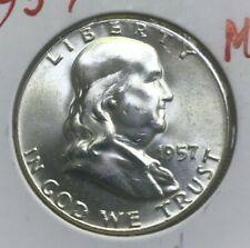1957 Franklin Half Dollar - Bright Uncirculated