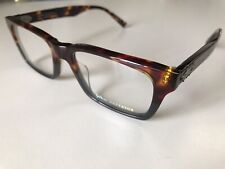John Varvatos Eyeglasses Rectangle Mens Tort Grey Eyewear Frame V368. 54mm