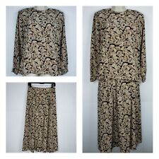 Sophisticates by Pendleton Vintage 2 Piece Skirt Set 10