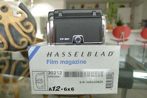 Hasselblad A12 Film Back Chrome 30212 Matching insert Latest Box 501 503 SWC